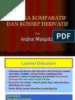 STATIKA KOMPARATIF DAN DIFFERENSIAL by Indra Maipita