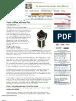 CoffeeGeek - How to Use a Press Pot.pdf