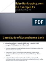 Susquehanna Exposures to Construction Loans