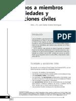 Anticipos a Miembros de Sociedades y Asociaciones Civiles