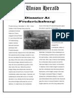 Disaster at Fredericksburg
