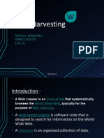 Web Harvesting Ppt