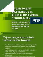 Prinsip2 BioProses Dalam Pengolahan Limbah-Sampah