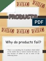 Failed Product