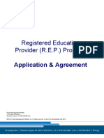 Rep Program Application