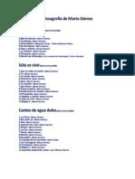 Discografía de Marta Gómez