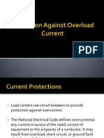 Protection Against Overload Current