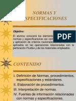 NORMAS Y ESPECÍFICACIONES UNIDAD I (1)
