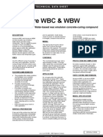 Duracure WBC & WBW