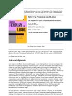 Blum_Between Feminism and Labor