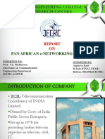 PAN AFRICAN e-NETWORKING PROJECT