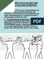 10 Errores Fatales Que Han Matado Policas Expertos