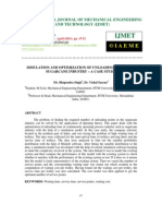 Simulation and Optimization of Unloading Point of a Sugarcane Industry