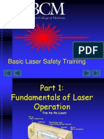 Laser Safety Training
