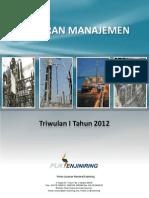 Buku Laporan Manajemen TW I 2012