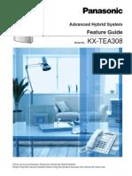 Panasonic Kx-tea308 Feature