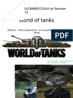 World of tanks [Guillaume&Erwan corrigé]