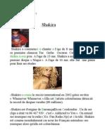 Shakira [Morgane et Océane]