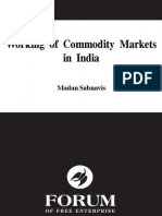 Working of Commodity Markets in India