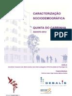 Caracterização sociodemográfica Quinta do cabrinha 03_09
