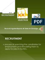 RECRUITMENT,SELECTION,STAFFING