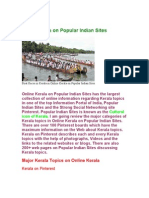 Online Kerala on Popular Indian Sites