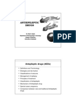 Antiepileptics update