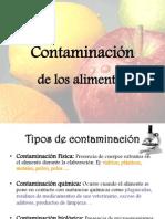 Contaminación de alimentos