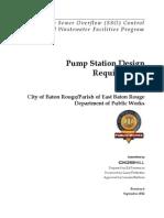 03-Pump Station Design Reqs