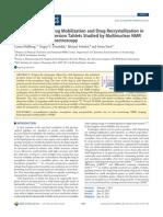 Polymer Swelling, Drug Mobilization and Drug Recrystallization in.pdf