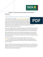 SDL Helps U.S. Pharmacopeial Convention Optimize Customer Experience