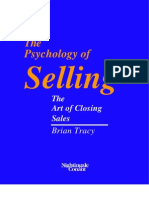 Psychology of Selling - The Art of Closing Sales - Brian Tra