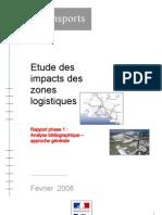 Etude Des Impacts Des Zones Logistiques