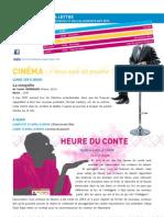 La Lettre de l'IFM Du 31 Mars Au 5 Avril 2013