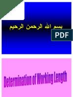 Length Determination