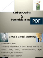 Carbon Credits & Potentials in India