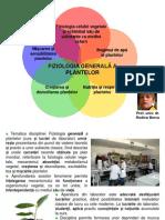 Bercu Rodica Prezentare Bio II Fiziologia Plantelor