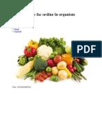 5 legume care fac ordine în organism 20oct2009