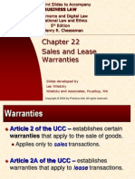 Sales Warranties