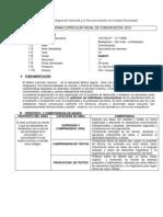 PROGRAMACION ANUAL DE COMUNICACION - QUINTO