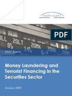ML and TF in the Securities Sector