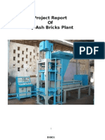Project Report of Fly Ash Bricks by Karmyog Ind.
