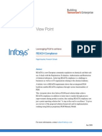 Infosys - Leveraging PLM to Achieve REACH Compliance | Lifecycle Management