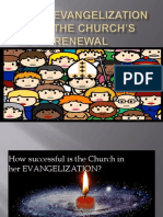 9 a New Evangelization for the Church s Renewal (Lesson 5.2)