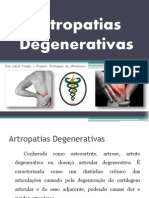 ARTROPATIAS DEGENERATIVAS - Artroses