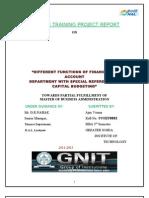 Hal Finance Report
