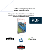 AutoCAD 2011 Hardware Productivity Study [FINAL]