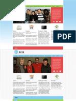 SI520 - Web Page Mockup