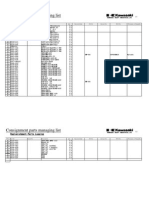 Part Managemet Sheet 0712