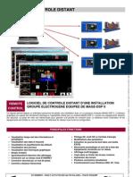 Datasheet Remote Control FR 725007A